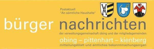 Deckblatt Bürgernachrichten